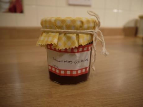 Home-made jam.