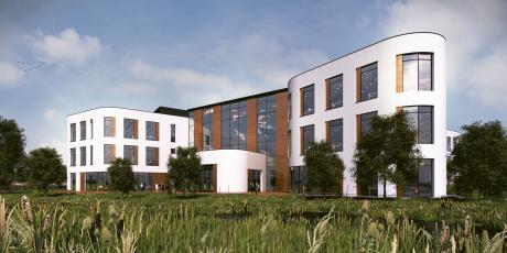 Moneypenny HQ in Wrexham.