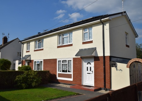Council housing in Wrexham